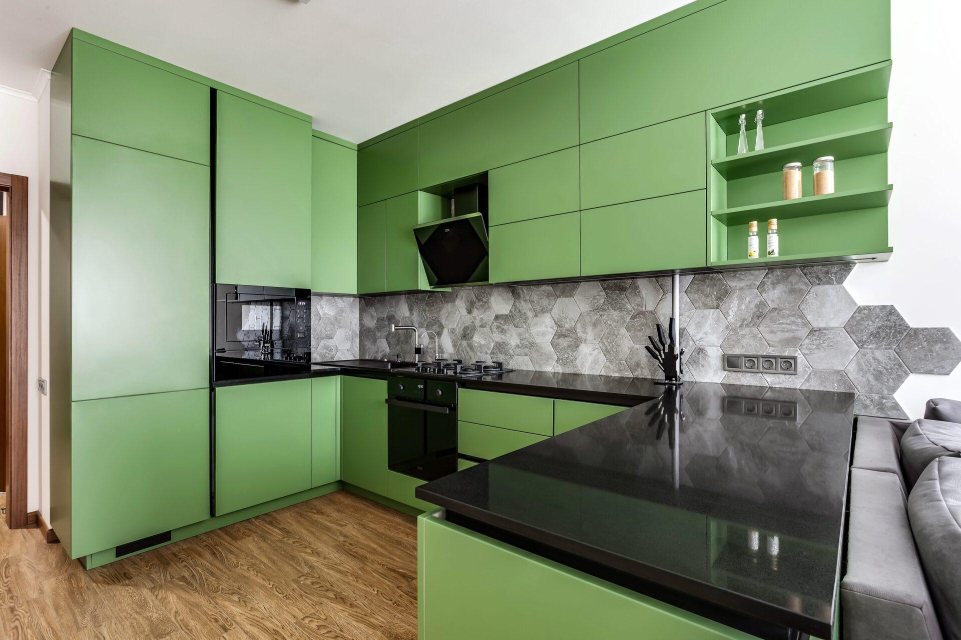 Green Mdf & Caesarstone